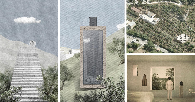 Piccoli padiglioni ricettivi per il Museo Nivola. Vince la russa Tatiana Skorduli, sul podio anche gli italiani Associates