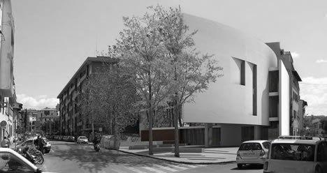 la casa degli architetti a firenze