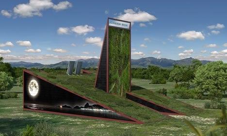 Green box la casa giardino sostenibile del futuro - Case trasportabili ...