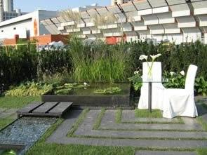 I giardini vincitori di expo green for Architettura giardini