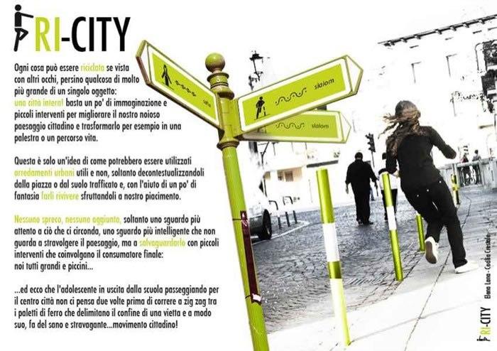 Mini design award 2009 risultato concorso for City design arredo urbano