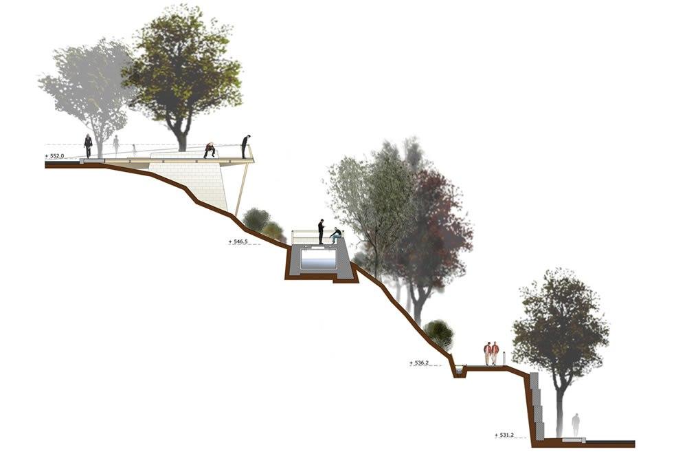 Un parco urbano attrezzato per la citt di nuoro for Grandi planimetrie