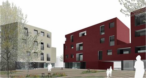 42 alloggi di edilizia residenziale a oristano risultato for Piani di costruzione commerciali gratuiti