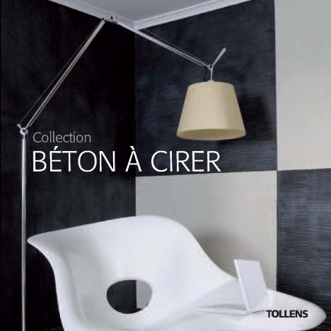 b ton cirer l innovativa collezione di decorativi tollens ad effetto cemento press p a. Black Bedroom Furniture Sets. Home Design Ideas