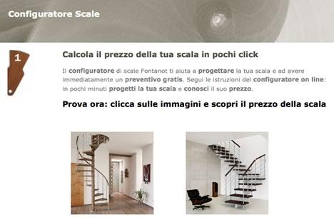 Con fontanot pochi click per progettare la propria scala su misura press p a - Progettare la propria casa ...