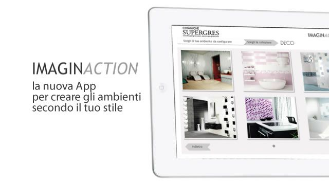 Ceramiche Supergres ha aggiornato IMAGINACTION