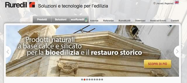 Online il nuovo sito Ruredil