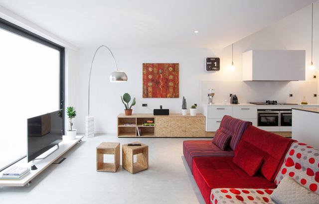 Casa OV: il carattere industriale che diventa domestico