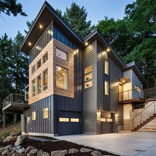 La vista su Portland di Jordan Iverson Signature Homes