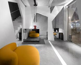 L ufficio di consexto un interior design futuristico p for Ufficio architetto design