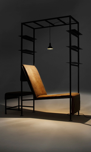 Biblioteca itinerante: nobilitazione dell'interior design industriale