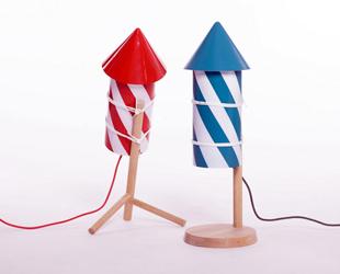 I fuochi d'artificio come oggetto di design