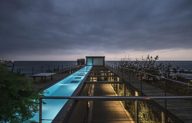L'Amchit Residence: una meridiana sul mare