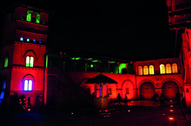 Tra Medioevo, luci e colori