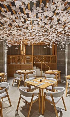 Un sushi bar razionale ed emozionale a Valencia