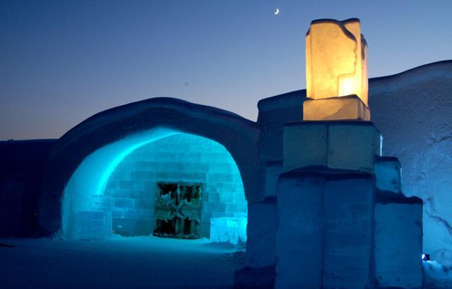 Ice Hotel: l'architettura si trasforma tra i ghiacci