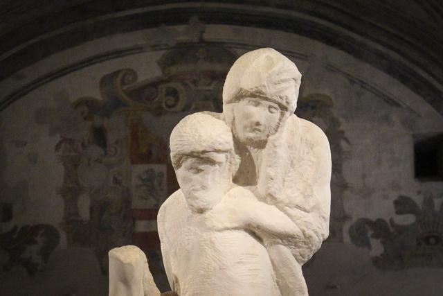 Lo splendore della Pietà Rondanini