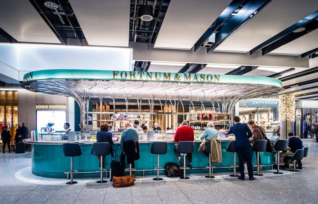Fortnum & Mason: qualità al volo