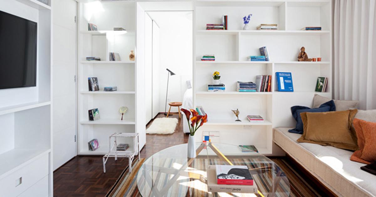 Agua verde apartment design e comodit in 30 mq p a design for Ikea 35 mq