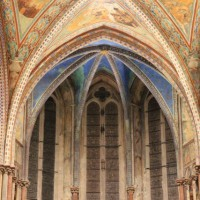 Lo splendore della Basilica Superiore di Assisi