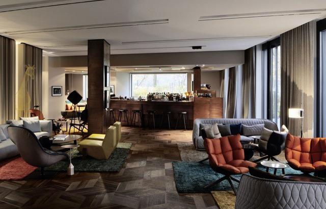 Il rinnovamento del Das Stue hotel