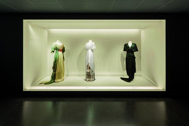 Luce alla moda nella Fashion Gallery di Berlino
