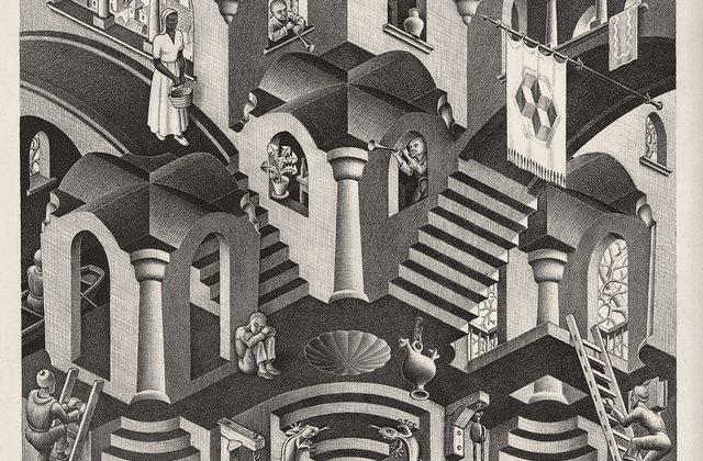 Nel fantastico mondo di Escher