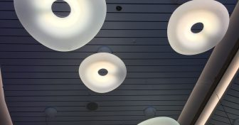 Illuminazione esclusiva per il Superferry Andros