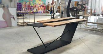 Il tavolo MIETTA, il Made in Italy di A.zetaDESIGN