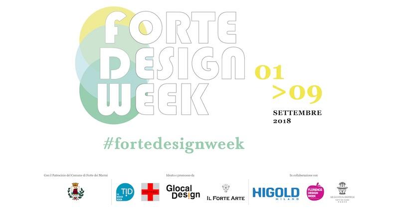 Forte Design Week: Forte dei Marmi si veste di Design