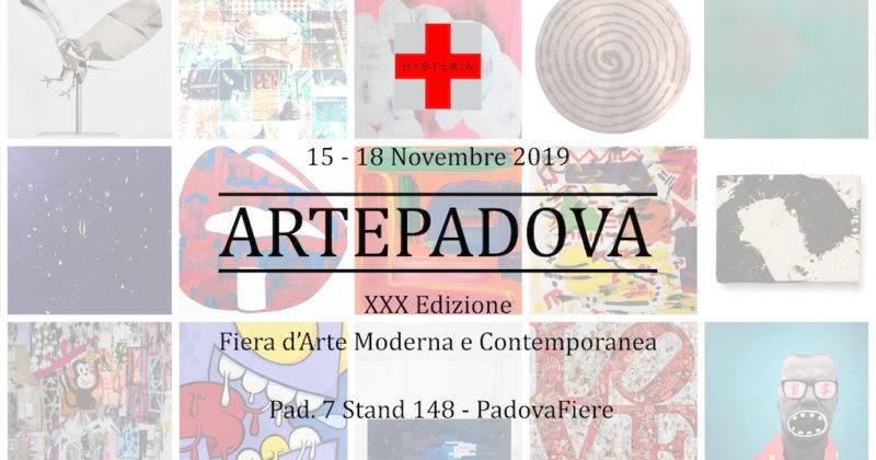 HYSTERIA ART Gallery per la prima volta a ARTEPADOVA 2019