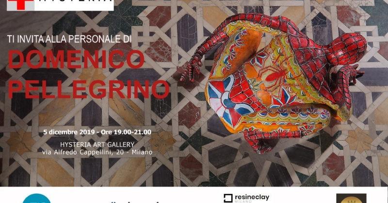 Domenico Pellegrino e i suoi supereroi invadono la galleria HYSTERIA ART