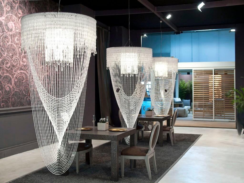 Creare Un Lampadario Di Stoffa gioielli di luce firmati adriana lohmann – p+a design