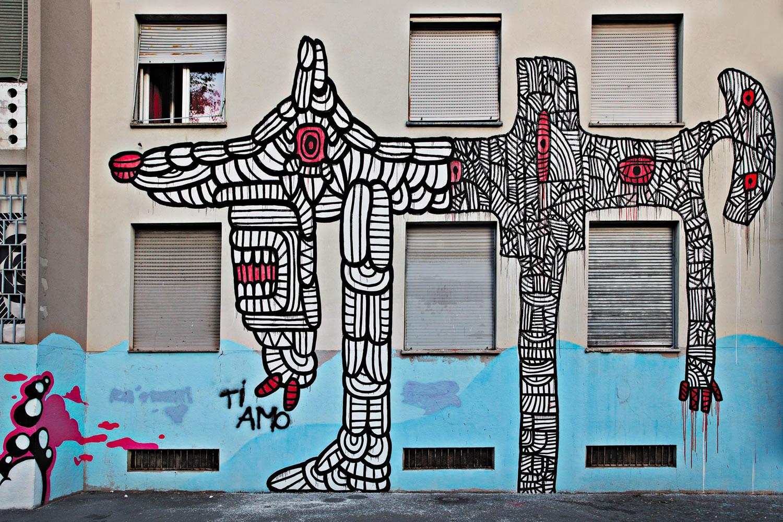 Maua museo di arte urbana aumentata a milano 6 for Architetti on line gratuiti