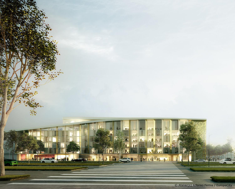 Europacity 2 0 grand paris gli 8 progetti vincitori che for Architetti on line gratuiti