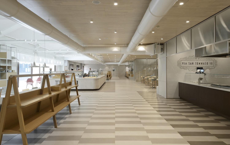 Headquarters lavazza di cino zucchi a torino 7 for Architetti on line gratuiti