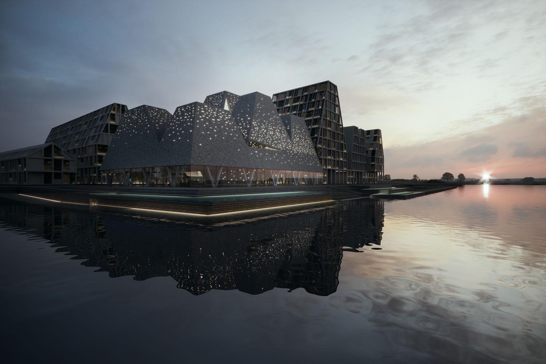 Il waterfront culture center di kengo kuma a copenhagen 8 for Architetti on line gratuiti