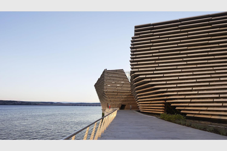 Dundee il victoria and albert museum di kengo kuma 6 for Architetti on line gratuiti