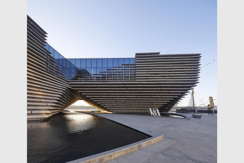 Dundee il victoria and albert museum di kengo kuma 2 for Architetti on line gratuiti