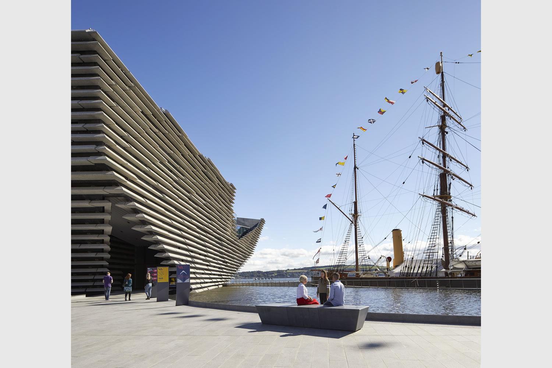 Dundee il victoria and albert museum di kengo kuma 7 for Architetti on line gratuiti