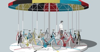 Argentina: 'Carrousel', Buenos Aires - Gaspar Libedinsky