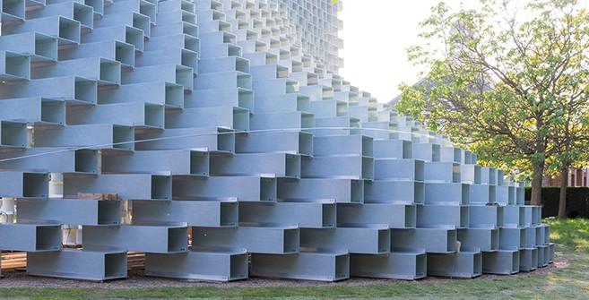 Londres: Serpentine Gallery Pavilion 2016, BIG - Bjarke Ingels... primeras imágenes