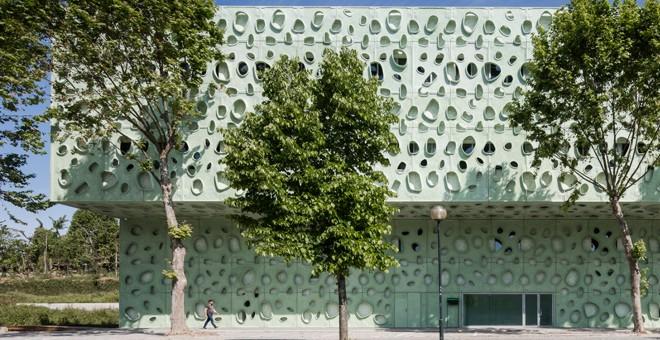 Portugal: Edifício IB-S, campus de Azurém, Universidad de Minho - Cláudio Vilarinho