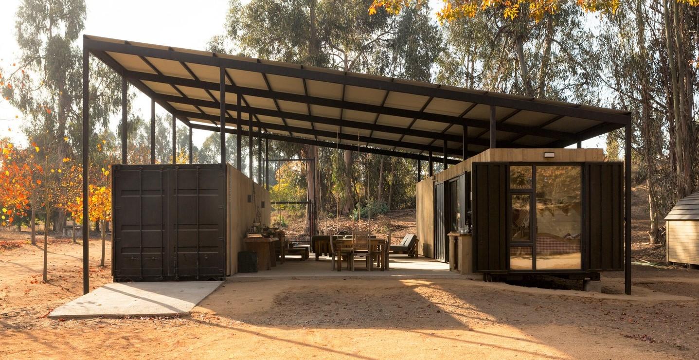 Chile: Casa Abierta Container - Plannea Arquitectura + Constanza DomÍnguez