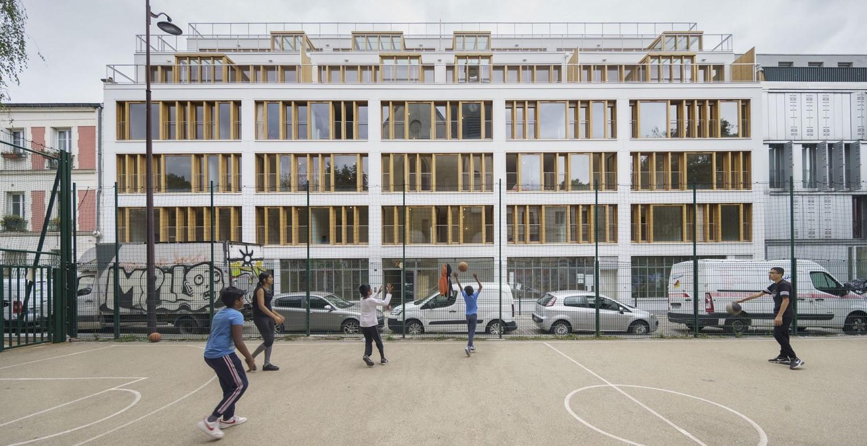 Francia: 35 viviendas sociales y privadas - MAO. Mobile Architectural Office