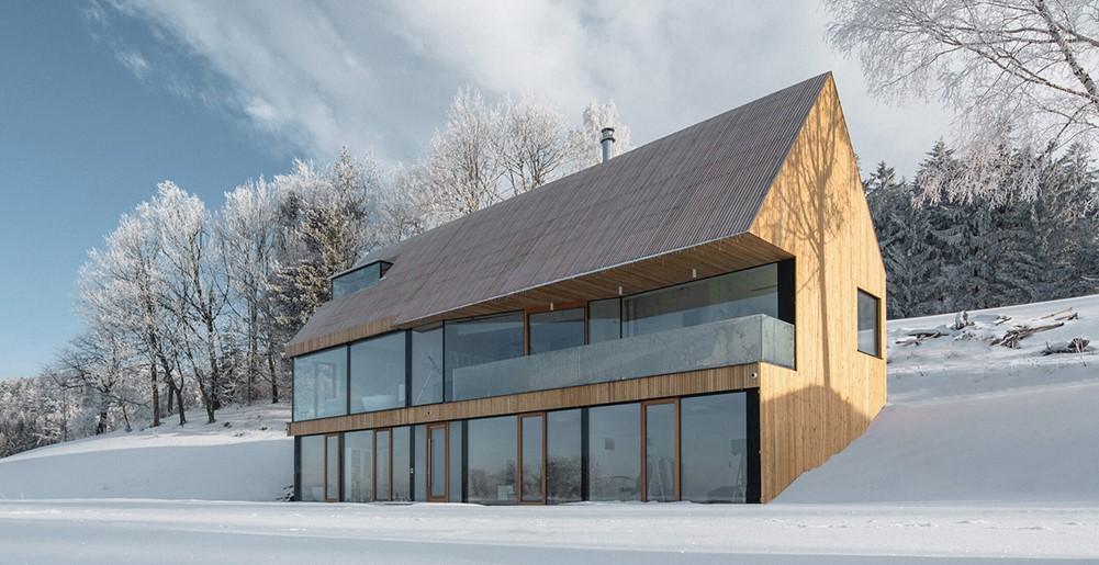 República Checa: Casa en las Montañas de los Gigantes - Fránek Architects