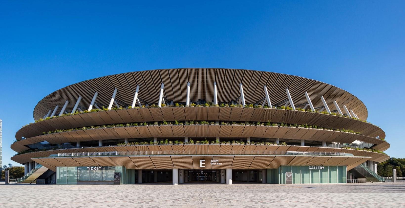 Japón: Nuevo Estadio Nacional - Kengo Kuma