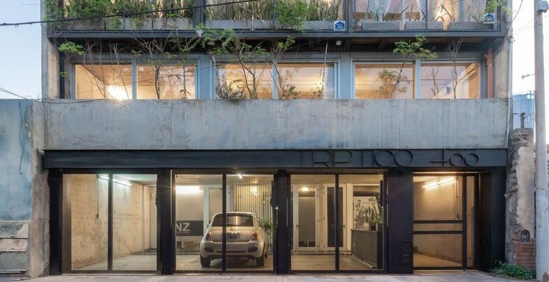 Argentina: Edificio tríptico - Mariela Marchisio + Cristián Nanzer + Germán Margherit