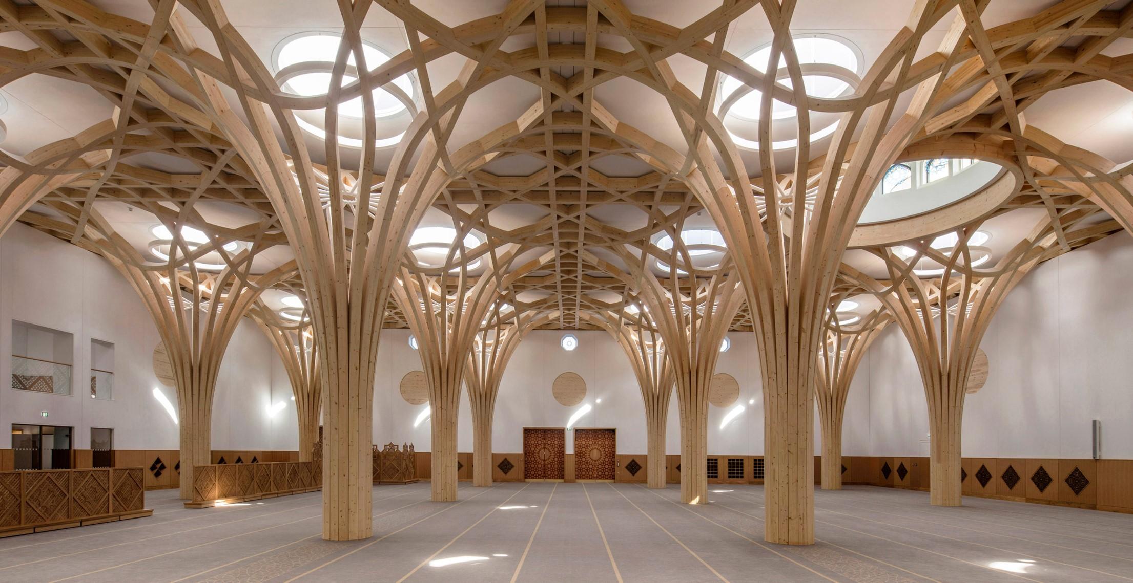 Reino Unido: Mezquita Central de Cambridge - Marks Barfield Architects