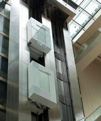 TWIN-elevator-ThyssenKrupp-Headquarters-Essen